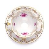 filiżanki antykwarska herbata fotografia royalty free