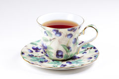 filiżanki czarny herbata Obraz Stock