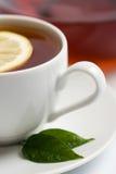 filiżanki czarny herbata Fotografia Royalty Free