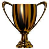 filiżanki czarny trofeum Zdjęcie Royalty Free