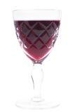 filiżanki czerwone wino Obrazy Stock