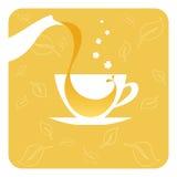 filiżanki herbata Royalty Ilustracja