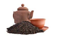 filiżanki herbaty teapot obrazy royalty free