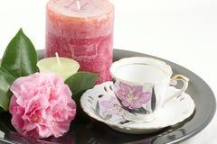 filiżanki herbaty z Zdjęcie Stock