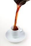 filiżanki kawa espresso Obrazy Royalty Free