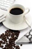 filiżanki kawa espresso rocznik Obraz Royalty Free