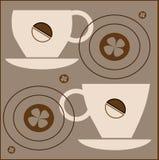 Filiżanki kawy Obraz Stock