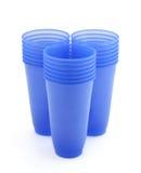 filiżanki plastikowe Obraz Stock
