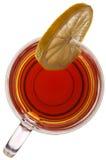filiżanki szklana cytryny herbata Zdjęcie Stock