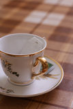 filiżanki teabag Obrazy Royalty Free