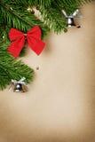 Filiais de árvore do Natal Fotografia de Stock Royalty Free