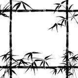 Filiais de bambu ilustração royalty free