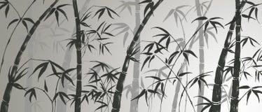 Filiais de um bambu Foto de Stock Royalty Free