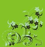 Filial floral Imagens de Stock Royalty Free