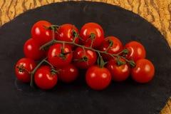 Filiale matura del pomodoro immagini stock libere da diritti