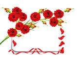 Filialen av blommor steg Royaltyfria Bilder