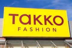 Filialen från TAKKO-mode shoppar Royaltyfri Foto