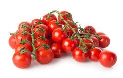 Filialer av körsbärsröda tomater arkivbild