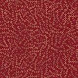 Filiali dell'oro della priorità bassa su colore rosso Immagine Stock
