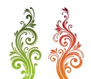 Filiali ornamentali illustrazione vettoriale