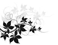 filialsilhouette royaltyfri illustrationer