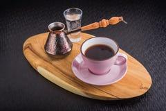 Filiżanka kawy z turkiem Fotografia Royalty Free