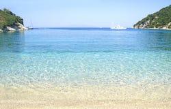 Filiatro beach Ithaca Greece Royalty Free Stock Photos