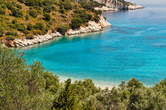 Filiatro in Ithaki, Greece Stock Images