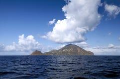 Filicudi, één van Eolische eilanden royalty-vrije stock afbeeldingen