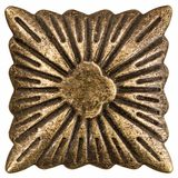 Filigrana sob a forma de um quadrado, elemento decorativo para o manual Fotografia de Stock