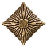 Filigrana sob a forma de um rombo, elemento decorativo para o manual Fotografia de Stock Royalty Free