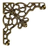 Filigree, dekoracyjny element dla ręcznej pracy, odizolowywający na bielu obrazy royalty free