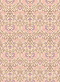 Filigree floral pattern. Pattern with ornamental flowers. Filigree ornament in pastel colors. Template for wallpaper, textile, shawl, carpet and any surface Stock Images