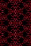 filigree red seamless Стоковые Фотографии RF