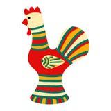 Filimonovo toy penny whistle cock Royalty Free Stock Image