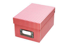 Filing box Royalty Free Stock Photos