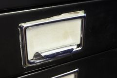 Filing cabinet #1 Royalty Free Stock Photo