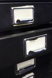 Filing cabinet #2 royalty free stock image
