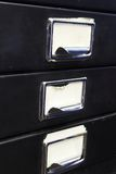 Filing cabinet #3 royalty free stock photography