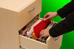 Filing Cabinet Stock Photography