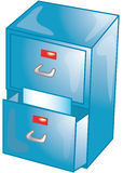 Filing Cabinet Icon. File cabinet icon or symbol Royalty Free Stock Photography