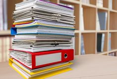 Filing Cabinet Royalty Free Stock Photo