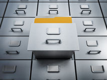 Filing cabinet Stock Photos