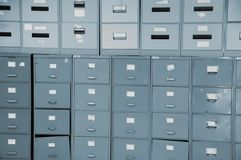 Filing cabinets Stock Photos