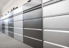 Filing cabinets Stock Photography