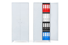 Filing Cabinets with Office Folders Royalty Free Stock Images
