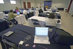 Filing center for national press core, Henderson, NV Stock Photo