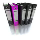 Filing and organizing information Stock Image