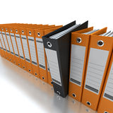 Filing and organizing information Royalty Free Stock Photo