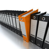 Filing and organizing information Royalty Free Stock Photography